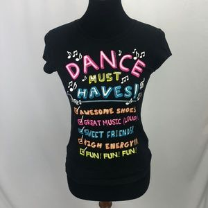 Justice Graphic Dance Tee
